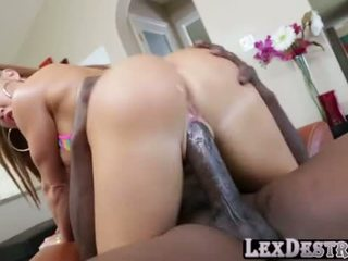 Nikki Delano tight pussy naild by BBC Video