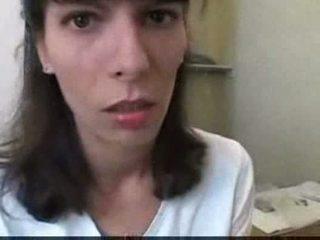 Euro adolescente follando en baño vídeo