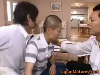 Miki sato real asiática madre part1