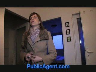 공공의 agent fucks 임신 한 marketa