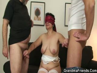 reality, group sex, old