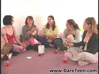 Truth or dare with six adorable models