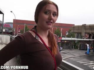 Mofos - czerwony włosy, duży cycki