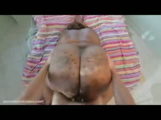 Black BBW Superstar With 70 Inch Ass Gets Destroyed By White Cock