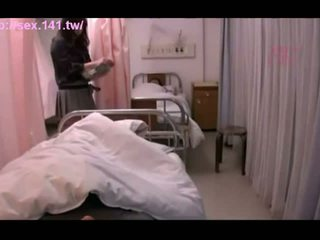 Sexy Japanese MILF moans while being porked hard