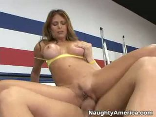 Lusty Whore Monique Fuentes Bounces Her Steamy Twat Hard On A Thick Shaft