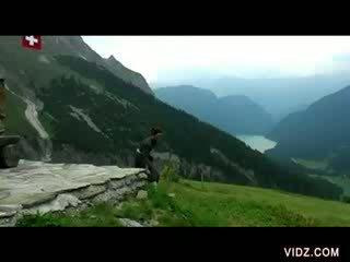 swiss mountains fuck fest