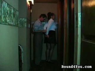 দাসত্ব, বাঁধা আপ, bondaged