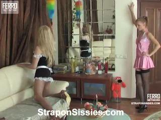hardcore sex онлайн, най-горещите строга господарка хубав, още колан с пенис онлайн