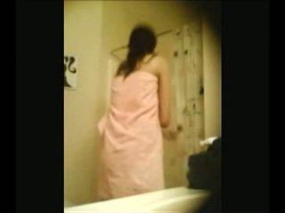 voyeur, babe, shower