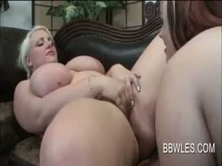 Fat Teenage Lesbians Having Passionate Oral Sex