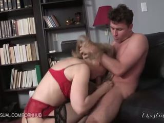 Nina hartley ir a slutty corporate stepmother - porno video 551