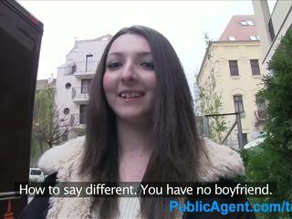PublicAgent Teen brunette gets fucked ...