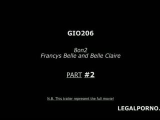 8on2 Belle Factor part #2 GANGBANG/ MULTIPLE FACIAL/ PARTY/ SWALLOW/ DROWNING GIO206 <span class=duration>- 3 min</span>
