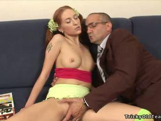 Baby sucks big cock