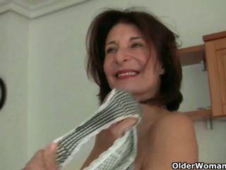 francuski gorące, wielki babcie, ty dojrzewa najgorętsze
