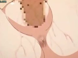Anime Angel With Huge Breasts Gets Laid