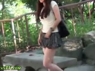 japanilainen, julkinen, ulko-, fetissi