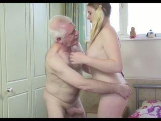 wytryski, dojrzewa, stary + młoda, hd porno