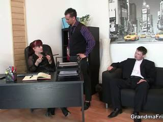 Business Mature Lady Double Slammed, Free Porn f7