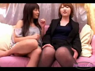 see cute quality, all japanese nice, lesbians you