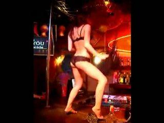 Amateur Girl Stripping At Bar