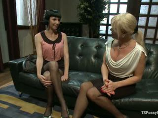 Hitting It Big Transsexual Casting Couch1