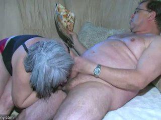 Oldnanny montel nenek adalah sangat miang/gatal besar bertiga
