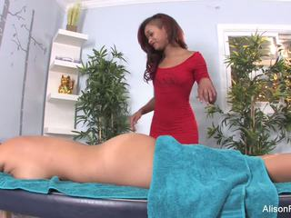 Alison and Skin's Sexy Lesbian Massage Session: HD Porn 53