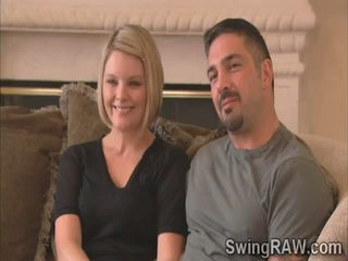 Blondie and husband tell their experience as swingers in reality show