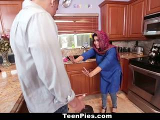 Teenpies - muslim cô gái praises ah-laong tinh ranh
