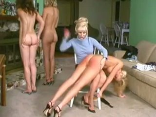Spanked และ given enemas