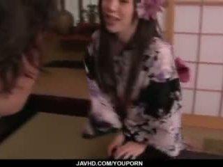 japanese, vibrator, kissing, dick riding
