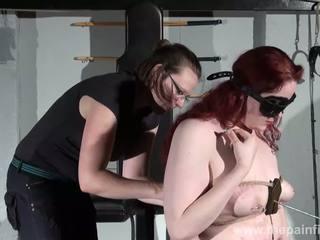 Lesbietiškas zylė kankinimas ir mėgėjiškas bdsm apie enslaved r