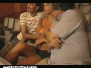 grupinis seksas, doggystyle, šnipas, threesome