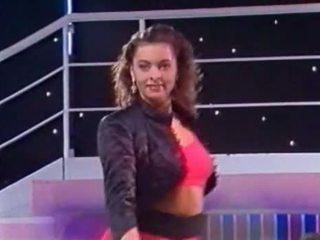 Talianske televízie show - tutti frutti - kandidatin sabine