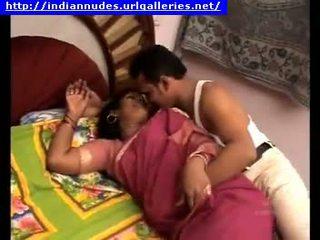 індійський, любитель, матуся, пара