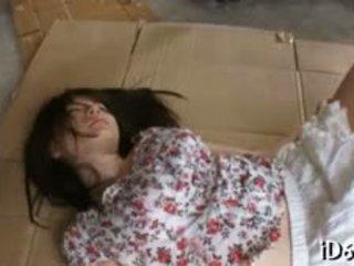 Japanese Doxy With Massive Juggs Feels Ramrod In Wet Snatch