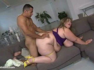 Grasso donna ottenere anale scopata da giovane satissfiedat donna ottenere anale fuckin