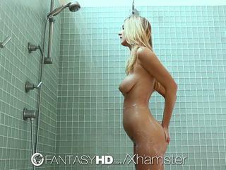HD FantasyHD - Shower sex with babe Natalia Starr