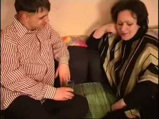 russian mom and son fat