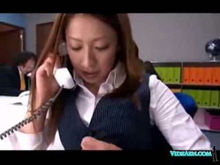 Asian girl getting her pussy fucked by the doctor facial in