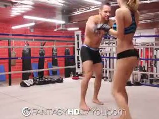 高清晰度 fantasyhd - natalia starr wrestles 她的 方法 成 他媽的 session