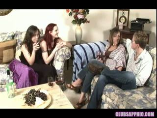 Mz berlin and sinn sage invite over alex mackay and zoey stone for some wino