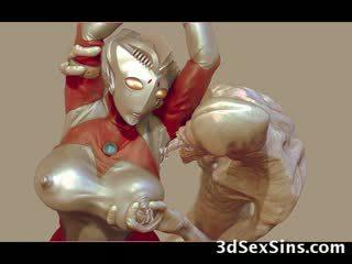 3d aliens και monsters γαμώ κορίτσια!