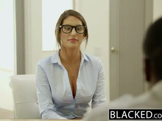 Blacked august ames gets an rassidevaheline creampie