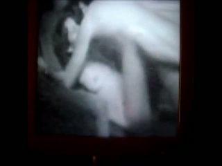 Vecchi film fatto in casa in il nostro stanza da letto