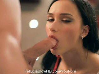 Morena namorada marcas oral amor
