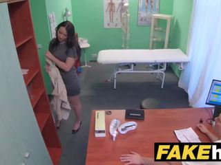 Fake Hospital Frisky Shaven Pussy Russian Babe Loves Docs Cock