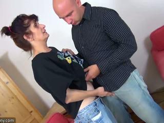 Oldnanny dewasa perempuan tua enjoying segar meat: gratis resolusi tinggi porno 84
